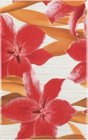 decor Orchids rojo 25x40